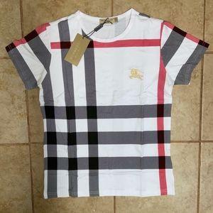 White Men Burberry Shirt